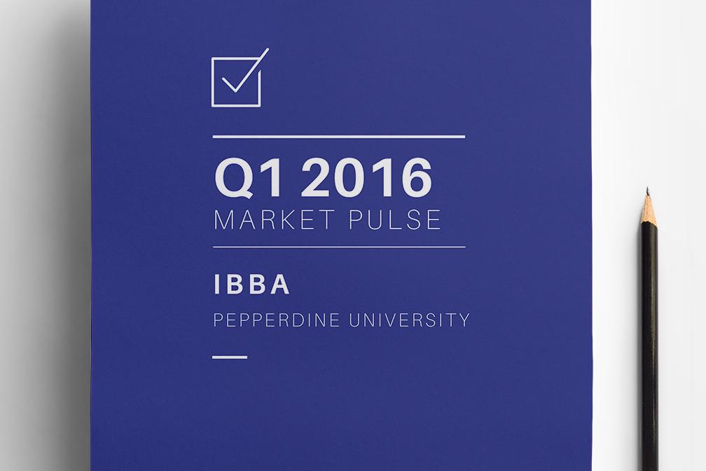 Q1 2016 Market Pulse