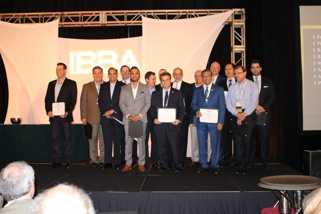 winners of 2016 IBBA Chairman's Circle Award