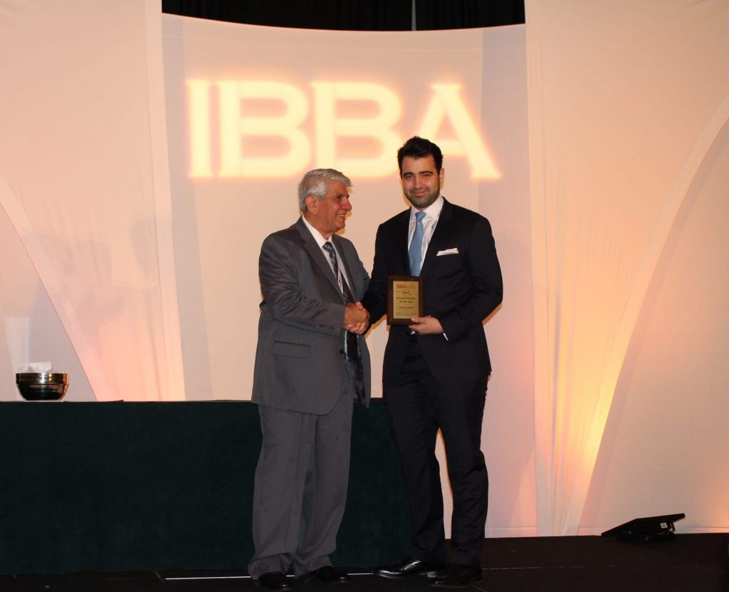 Ismael Wrixen 2016 IBBA Deal Maker of the Year Award