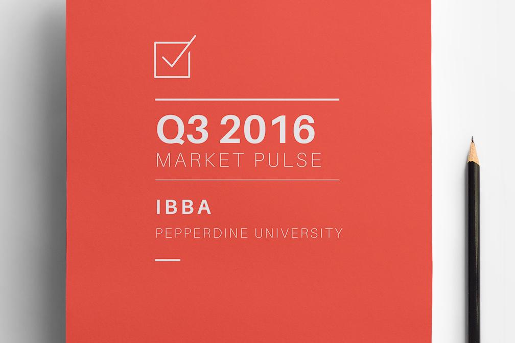 Q3 2016 Market Pulse