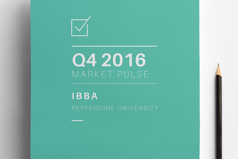 teal cover Q4 2016 Market Pulse