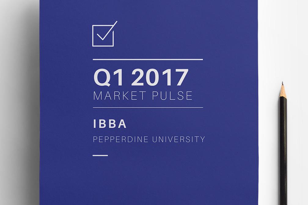 IBBA 2017 Q1 Market Pulse
