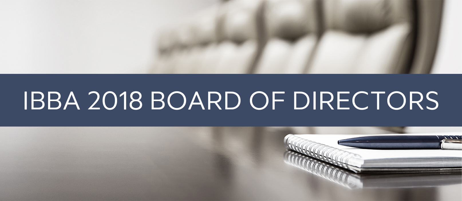 2018 ibba board of directors results
