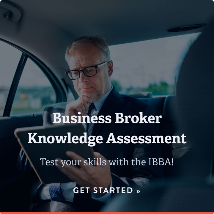 Test your skills with the IBBA! Get started button