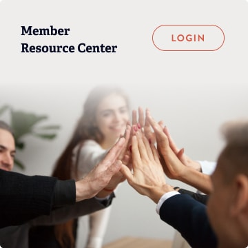 Member Resource Center login page