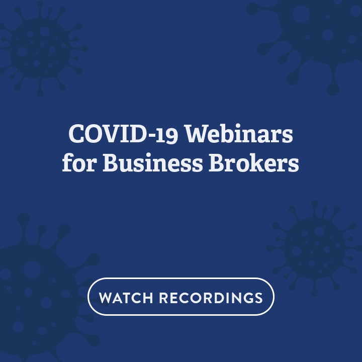 covid-19 webinars for business brokers